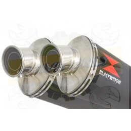 Twin 400mm Round Black...
