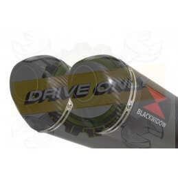 Twin 400mm Oval Carbon...