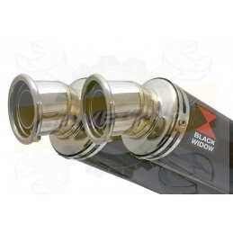 Twin 350mm Round Carbon...