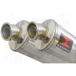 Twin 300mm Oval Stainless...