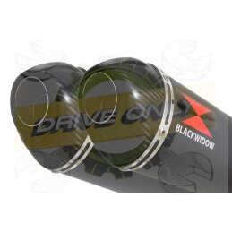 Twin 300mm Oval Black...