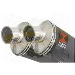 Twin 230mm Oval Black...