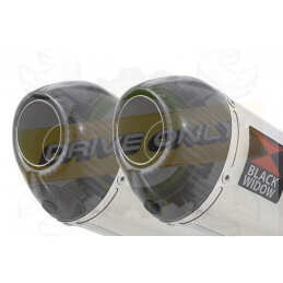 Twin 200mm Oval Stainless...