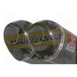 Twin 200mm Oval Carbon...