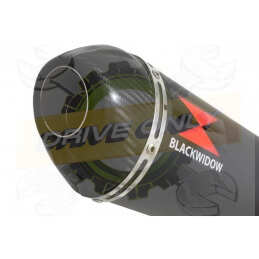 300mm Oval Black Painted...