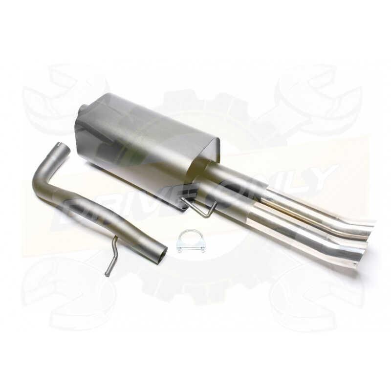 DB Killer Silencieux /Échappement Exhaust Dominator Rond Compatible avec YBR 125 09-18 2009-2018