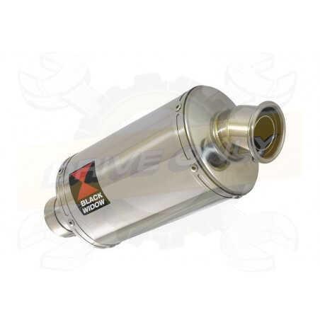 R1150 R ROCKSTER exhaust Silencieux kit & Ovale Silencieux En Inox 230mm