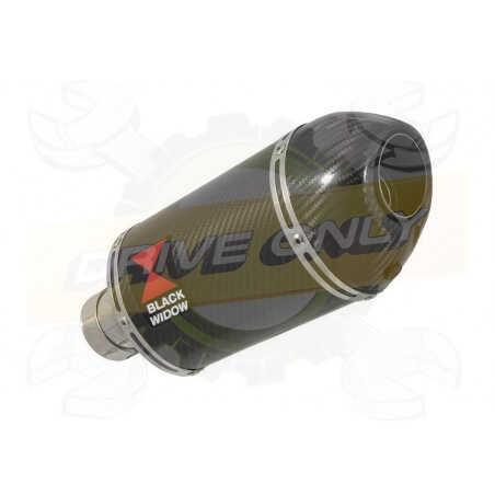 R1150 GS ADVENTURE exhaust tube de raccord et Ovale En Carbone Silencieux + carbon tip 200mm