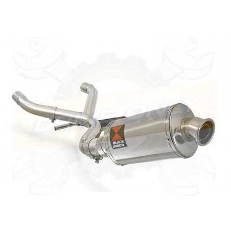 R1150 GS ADVENTURE Décatalyseur exhaust collector & Ovale Silencieux En Inox 230mm
