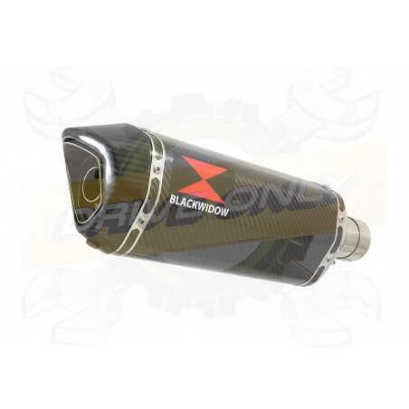 VFR800F VFR 800 1997-2003 (RC46) Ligne complètes & Hexagonale En Carbone Silencieux + Carbon Tip 300mm