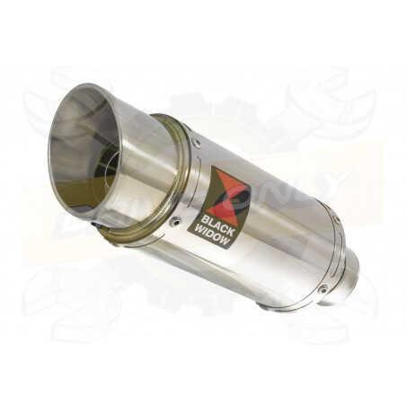 VFR800F VFR 800 1997-2003 (RC46) Tube de raccord et Silencieux Rond En Inox 200mm