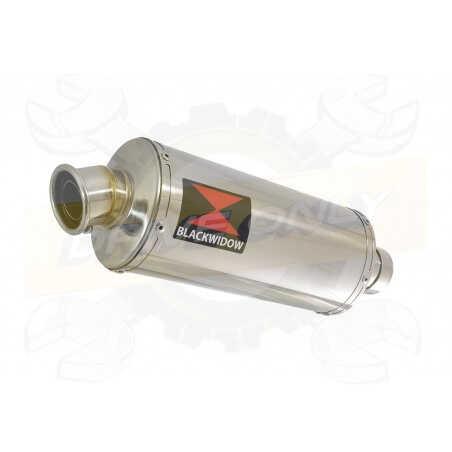 VFR800F VFR 800 2014-2017 (RC79) Exhaust tube de raccord & Ovale Silencieux En Inox 300mm
