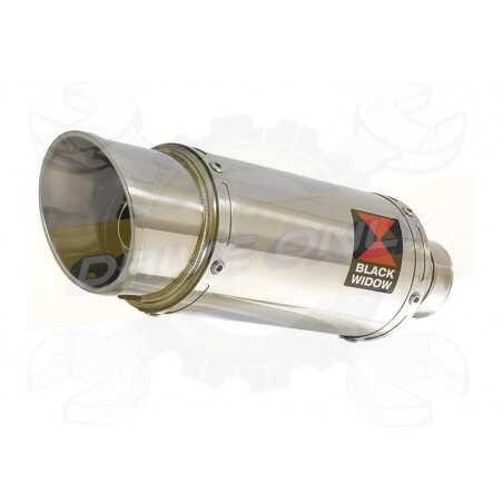 VFR 750 VFR750 FL-FP 90-93 (RC36) Tube de raccord et Silencieux Rond En Inox 200mm