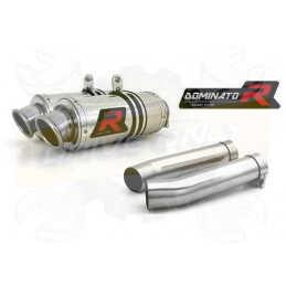 Silencieux sport Dominator : Tuono 1000 R / Factory 2006 - 2010