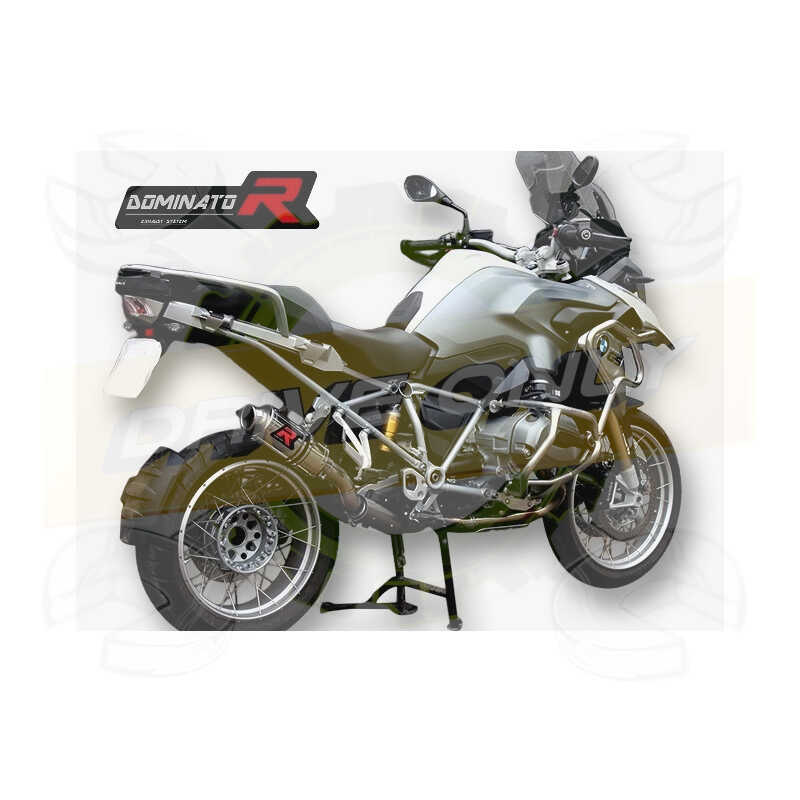 Silencieux sport Dominator : R 1200 GS / Adventure 2013 - 2016