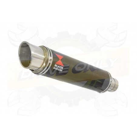 HYOSUNG GT250R GT250 COMET Ligne complète& Silencieux GP Rond En Carbone 350mm