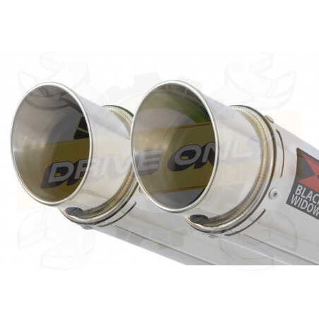 Speed Triple 1050 S R 2011-2015 Par paire Exhaust Silencieux Kit + GP Rond Stainless Silencieux 230mm