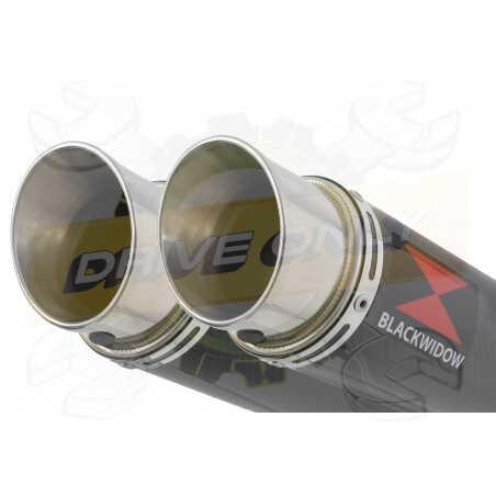 Speed Triple 1050 S R 2011-2015 Par paire /Silencieux Kit + Silencieux GP Rond en Carbone 360mm