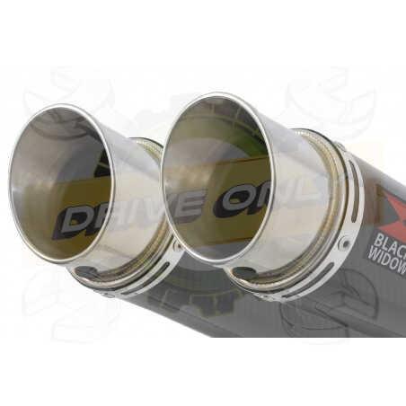 Speed Triple 1050 S R 2011-2015 Par paire /Silencieux Kit + Silencieux GP Rond enCarbone 350mm
