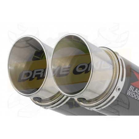 Speed Triple 1050 S R 2011-2015 Par paire /Silencieux Kit + Silencieux Rond enCarbone 200mm