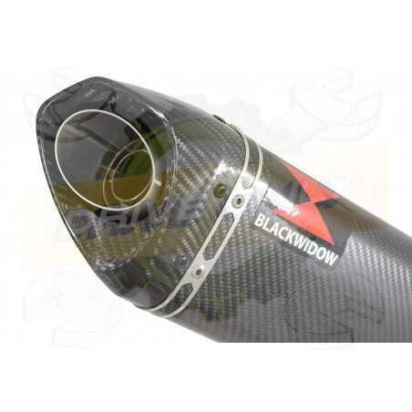 GSX1200 INAZUMA Ligne complète& Silencieux Tri Ovale En Carbone250mm