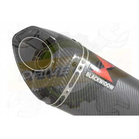 GSX1200 InazumaTube de raccord et Silencieux Tri Ovale En Carbone250mm
