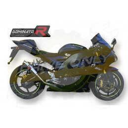 Silencieux sport Dominator : ZX10R Ninja 2004 - 2005