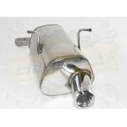 Silencieux Inox sport Ulter : Mini Cooper R50 / R53 1.4 & 1.6 essence 2000 - 2006