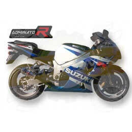 Silencieux sport Dominator : GSXR 1000 2001 - 2004