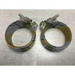 Colliers Inox 60/65mm Echappement
