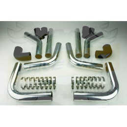 Kit durites et pipes pour Intercooler Gros volume DriveOnly Universel