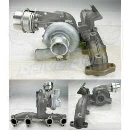 Turbo + Collecteur DriveOnly KP39 Ibiza 1.9Tdi Moteur ATD 2002 - 2006