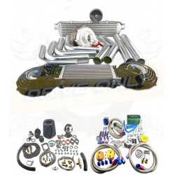Kit Turbo T3 / T4 Universel + Desente de turbo