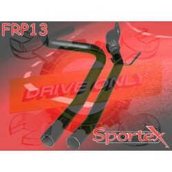 Intermédiaire +Tube Sportex Fiesta S 1.6 16V 2002 -  2008