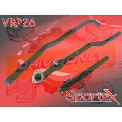 Intermédiaire + Tube Sportex Corsa C 1.2 / 1.4 16V Twin Port 2003 - 2006