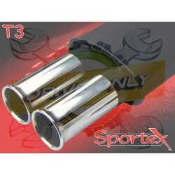 Silencieux Sportex 1 Série 3 E30 Berline / Break / Cabriolet - 320i 1982 - 1991