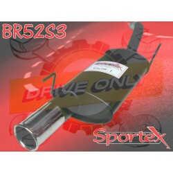 Silencieux Sportex Clio 1 1.8 8V Rsi / 1.8 16V / 1.8 16S 1991 - 1998