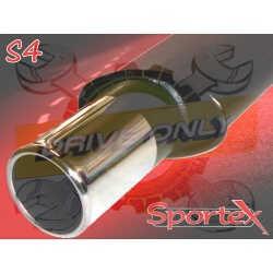 Silencieux Sportex Clio 1 1.1 / 1.2 / 1.4 1991 - 1998