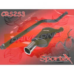Silencieux Sportex Sport  CITROEN Saxo VTS 1996 - 2000 1.4 & 1.6 8V VTR / VTS