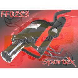 Ligne Performance Sportex 1 Fiat Punto 1.1 / 1.2 / 1.6 1994 - 1999