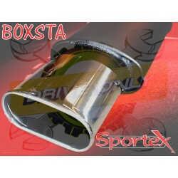 Ligne Performance Sportex Montage au centre du parechoc 4 Fiat Punto 1.2 Standard & Sporting 1999 - 2004
