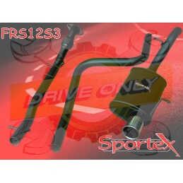 Ligne Performance Sportex  Ford Fiesta 1.25 / 1.3 / 1.4 2002 - 2008