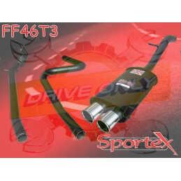 Ligne Performance Sportex 3 Ford Fiesta 1.25 / 1.3 / 1.4 2002 - 2008