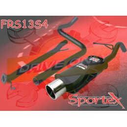 Ligne Performance  Sportex 6  Ford Fiesta S 1.6S 16V Zetec 2009 - 2012