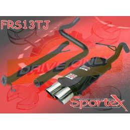 Ligne Performance  Sportex 3  Ford Fiesta S 1.6S 16V Zetec 2009 - 2012