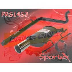 Ligne Performance  Sportex 1 Peugeot 206 1.4 8V / 1.6 8V / 1.8 8V 1993 - 2000