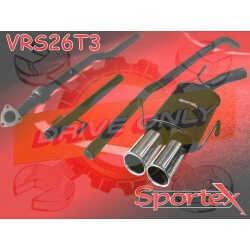 Ligne Performance  Sportex 4 Opel Corsa C 1.2i / 1.4i / 1.8 16V GSI  2000 - 2006