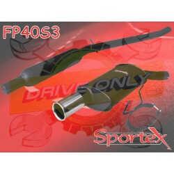 Ligne Sport + Silencieux intermédiaire Sportex 1 Peugeot 205 1.6 & 1.9 GTI / CTI 1984 - 1989