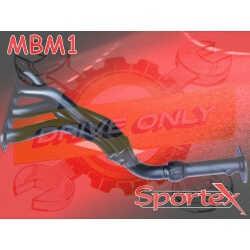 Collecteur d'échappement 4 / 1 Sportex acier Sport Mini One 1.6 2001 - 2006