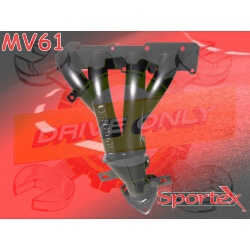 Collecteur d'échappement 4 / 1 Sportex acier Corsa C 1.2 TwinPort / 1.4i TwinPort 2003 - 2006